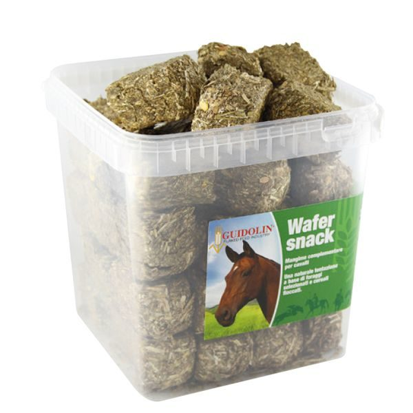 friandise pour chevaux equisnack wafer 2500gr